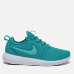 Женские кроссовки Nike Roshe Two Turquoise/White фото- 0