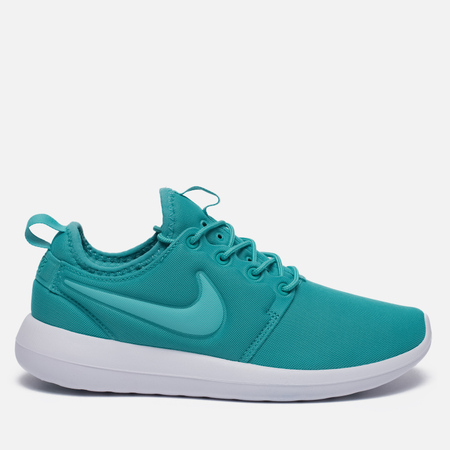 Женские кроссовки Nike Roshe Two Turquoise/White