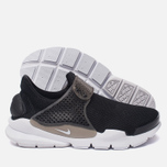 Женские кроссовки Nike Sock Dart Breathe Black/White/Glacier Blue фото- 2