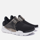 Женские кроссовки Nike Sock Dart Breathe Black/White/Glacier Blue фото- 1