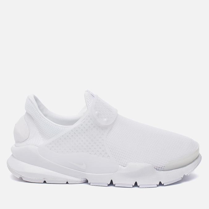 4ed5a2fc Женские кроссовки Nike Sock Dart Breathe White/Glacier Blue/White ...