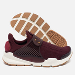 Женские кроссовки Nike Sock Dart Night Maroon/White/Gum Light Brown фото- 2