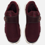 Женские кроссовки Nike Sock Dart Night Maroon/White/Gum Light Brown фото- 4
