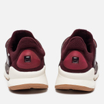 Женские кроссовки Nike Sock Dart Night Maroon/White/Gum Light Brown фото- 3