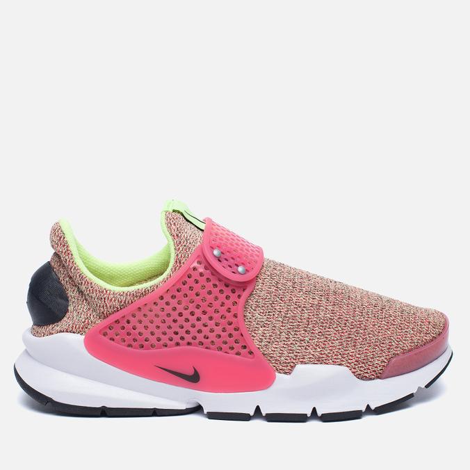 Женские кроссовки Nike Sock Dart SE Ghost Green/Black/Hot Punch