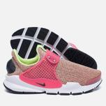 Женские кроссовки Nike Sock Dart SE Ghost Green/Black/Hot Punch фото- 2