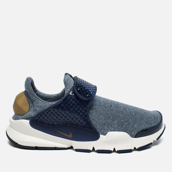 Женские кроссовки Nike Sock Dart SE Mingiht Navy/Gold