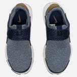 Женские кроссовки Nike Sock Dart SE Mingiht Navy/Gold фото- 4