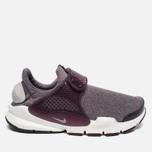 Женские кроссовки Nike Sock Dart SE Night Maroon/Light Iron Ore фото- 0