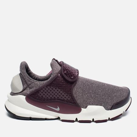 Женские кроссовки Nike Sock Dart SE Night Maroon/Light Iron Ore