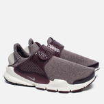 Женские кроссовки Nike Sock Dart SE Night Maroon/Light Iron Ore фото- 1