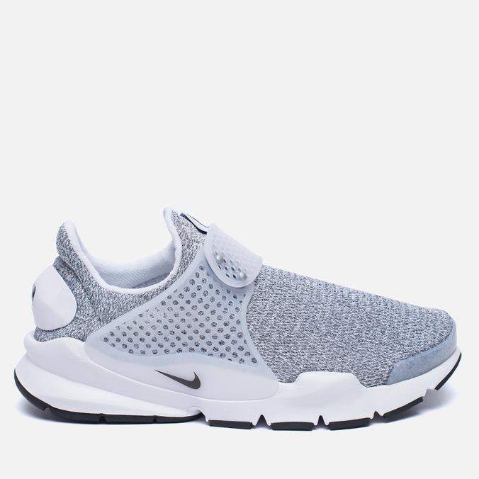 Женские кроссовки Nike Sock Dart SE White/Black/Metro Grey