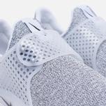 Женские кроссовки Nike Sock Dart SE White/Black/Metro Grey фото- 5