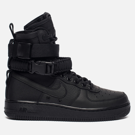 Женские кроссовки Nike Special Field Air Force 1 Black/Black/Black