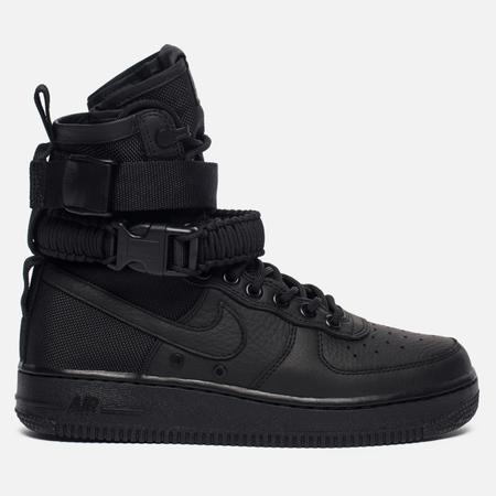 Женские кроссовки Nike Special Field Air Force 1 Black/Black/Black