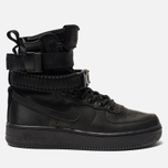 Женские кроссовки Nike Special Field Air Force 1 Black/Black/Black/Oil Grey фото- 0