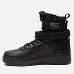 Женские кроссовки Nike Special Field Air Force 1 Black/Black/Black/Oil Grey фото- 2