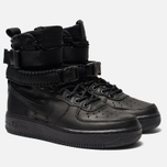 Женские кроссовки Nike Special Field Air Force 1 Black/Black/Black/Oil Grey фото- 1