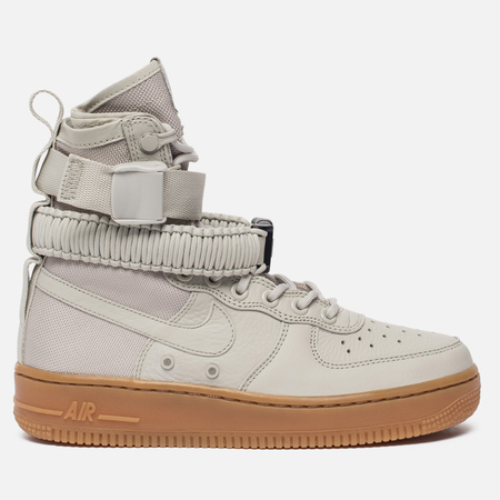 Женские кроссовки Nike Special Field Air Force 1 Light Bone/Light Bone/Gum Medium Brown