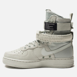 Женские кроссовки Nike Special Field Air Force 1 Light Silver/Light Silver/Mica Green фото- 1