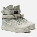 Женские кроссовки Nike Special Field Air Force 1 Light Silver/Light Silver/Mica Green фото- 2