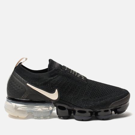 Женские кроссовки Nike Vapormax Flyknit Moc 2 Black/Light Cream/White/Thunder Grey