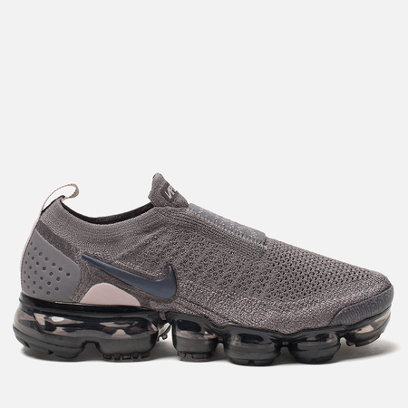 Женские кроссовки Nike Vapormax Flyknit Moc 2 Gunsmoke/Blackened Blue/Thunder Grey