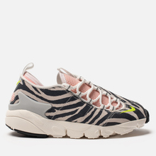 Женские кроссовки Nike x Olivia Kim Air Footscape NXN No Cover Summit White/Volt/Bleached Coral/Black фото- 3