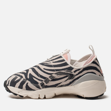Женские кроссовки Nike x Olivia Kim Air Footscape NXN No Cover Summit White/Volt/Bleached Coral/Black фото- 5