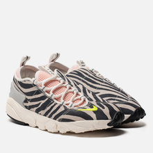 Женские кроссовки Nike x Olivia Kim Air Footscape NXN No Cover Summit White/Volt/Bleached Coral/Black фото- 0