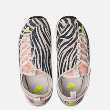 Женские кроссовки Nike x Olivia Kim Air Footscape NXN No Cover Summit White/Volt/Bleached Coral/Black фото- 1