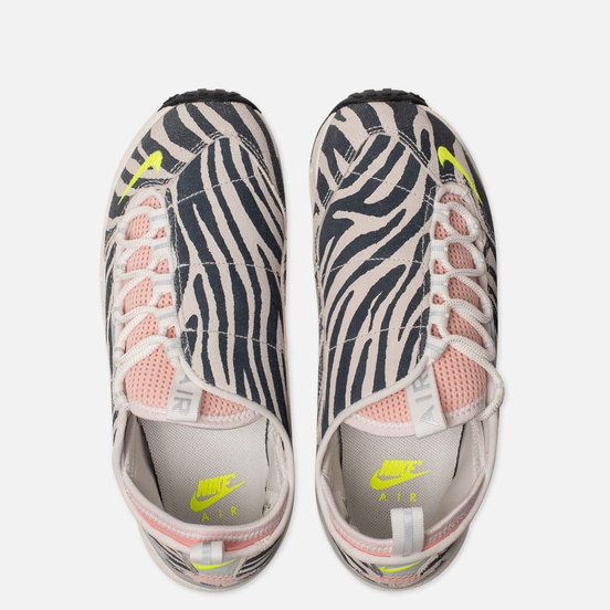 Женские кроссовки Nike x Olivia Kim Air Footscape NXN No Cover Summit White/Volt/Bleached Coral/Black