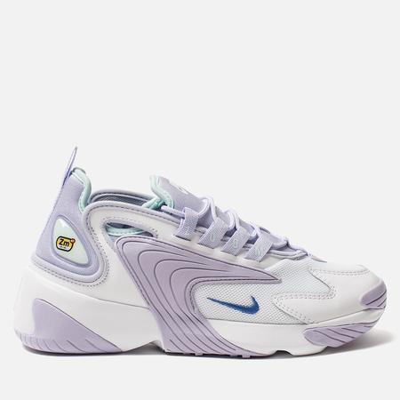Женские кроссовки Nike Zoom 2K White/Sapphire/Oxygen Purple/Teal Tint