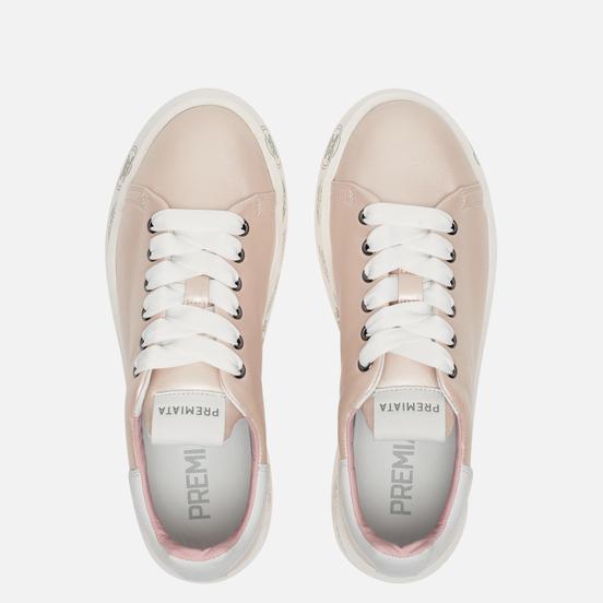 Женские кроссовки Premiata Belle 4536 Pearl Pink