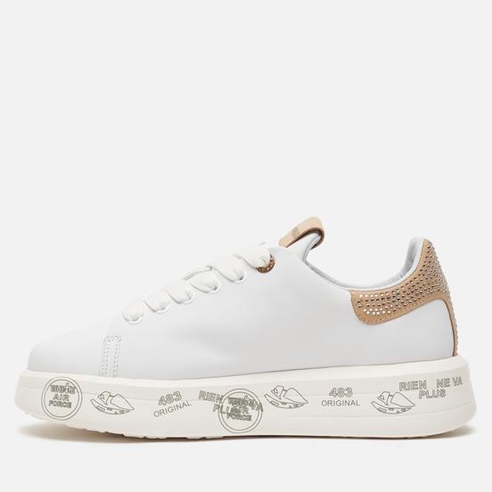 Женские кроссовки Premiata Belle 4540 White