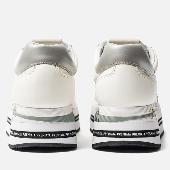 Женские кроссовки Premiata Beth 4038 Cream White