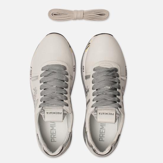 Женские кроссовки Premiata Beth 4517 White/Silver