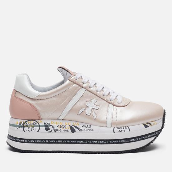 Женские кроссовки Premiata Beth 4519 Pink Pearls