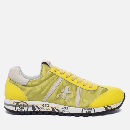 Женские кроссовки Premiata Lucy-d 1999 Yellow/White