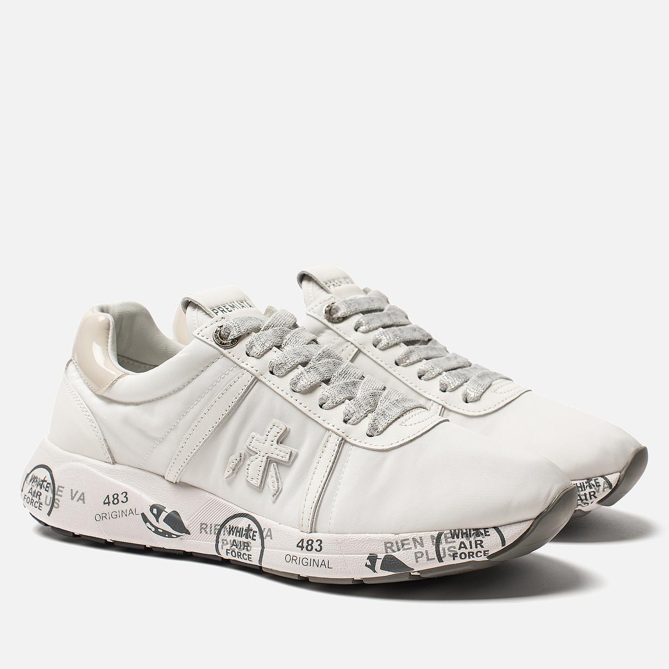 Женские кроссовки Premiata Matte-d 3877 White