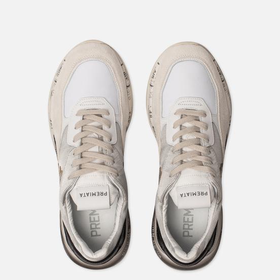 Женские кроссовки Premiata Scarlett 4530 White/Silver