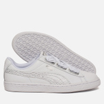Женские кроссовки Puma Basket Heart Oceanaire White/White фото- 2