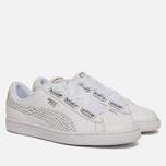 Женские кроссовки Puma Basket Heart Oceanaire White/White фото- 1