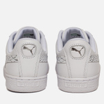 Женские кроссовки Puma Basket Heart Oceanaire White/White фото- 5