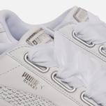 Женские кроссовки Puma Basket Heart Oceanaire White/White фото- 4