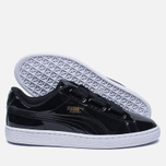 Женские кроссовки Puma Basket Heart Patent Black/Black/White фото- 1