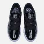 Женские кроссовки Puma Basket Heart Patent Black/Black/White фото- 4