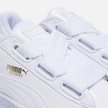 Женские кроссовки Puma Basket Heart Patent White/White фото- 5