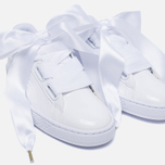 Женские кроссовки Puma Basket Heart Patent White/White фото- 6