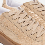Женские кроссовки Puma Basket Platform Exotic Skin Natural Vachetta/Gold фото- 5